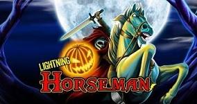 Spela Lightning Horseman på Halloween hos Unibet