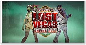 Ny spelautomat Lost Vegas Microgaming 2016