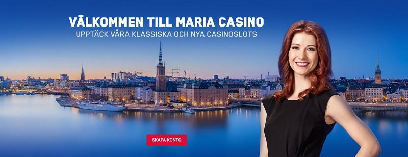 Maria Casino Bonus på 2000 kr