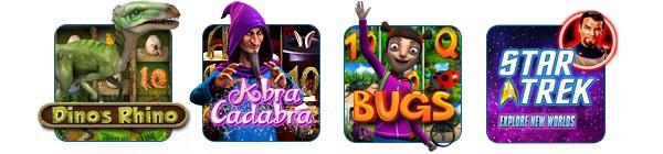 Mega Casino WMS spelautomater och 100 kr gratis