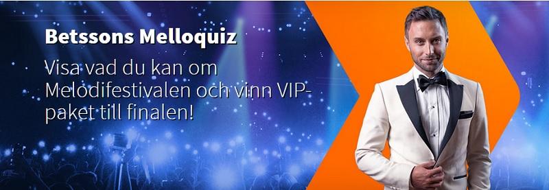 Melodifestivalen 2019 hos Betsson!