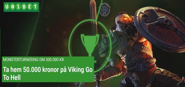 Monsterturnering hos Unibet med 300.000 kr i potten!