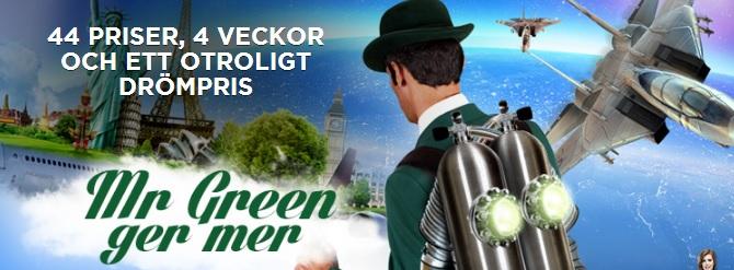 Casino Mr Green Gröna drömmar tävling