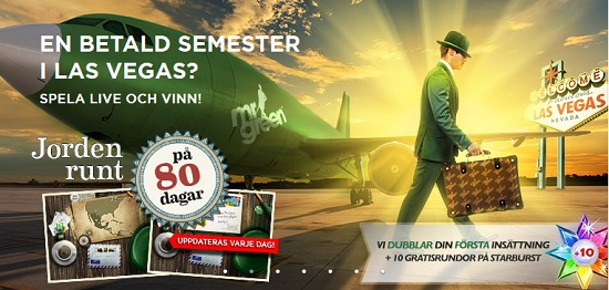 Mr Green Casino free spins 27 Juni 2013