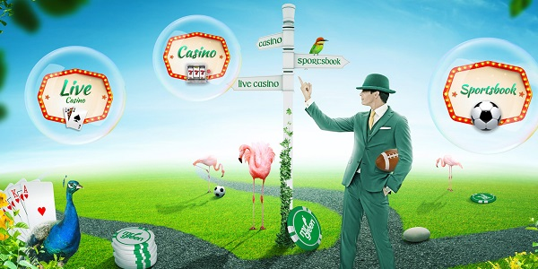 Mr Green odds och casino bonus