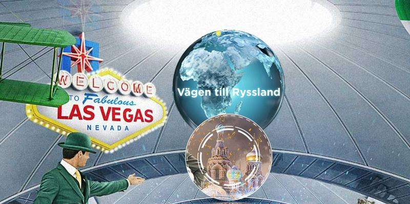 Vinn resa till Fotbolls VM med Mr Green casino