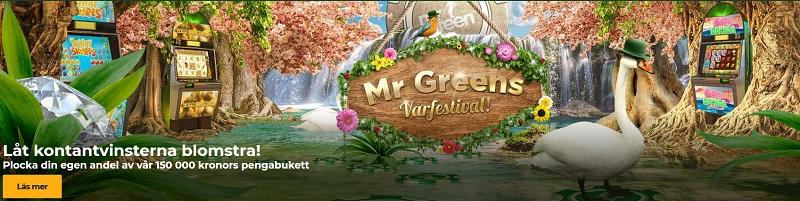 Veckans erbjudande i Mr Green Vårfestival