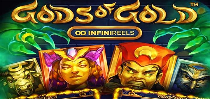 Spela senaste spelet från NetEnt - Gods of Gold!