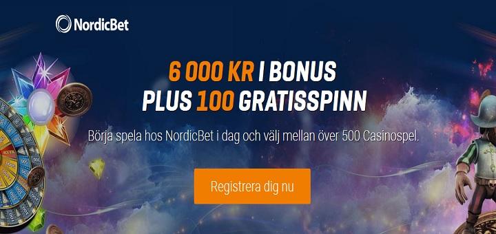Nya spelautomater och ny casinobonus hos Nordicbet