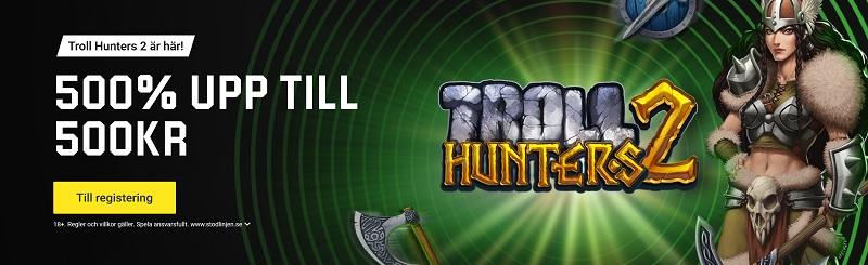 Spela nya Troll Hunters 2 exklusivt hos Unibet & iGame!