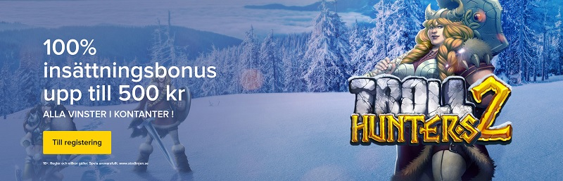 Spela nya Troll Hunters 2 exklusivt hos iGame