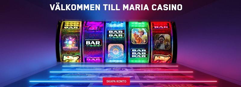 Ny Maria casinobonus att välja mellan!