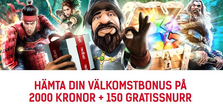 Ny Redbet Casino bonus 2017