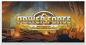 Ny spelautomat Power Force Heroes vecka 44