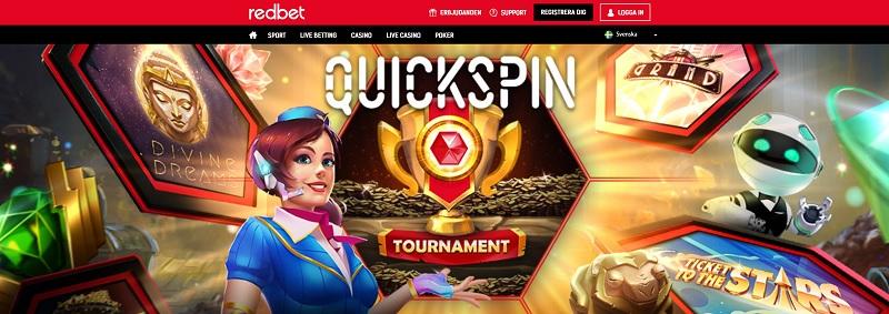 Quickspin Cash turnering med 10 000 kr i potten