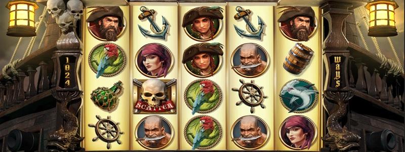 Rage of the Seas - nytt spel från NetEnt