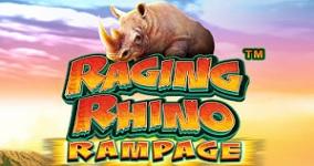 Nya spelautomaten Raging Rhino Rampage