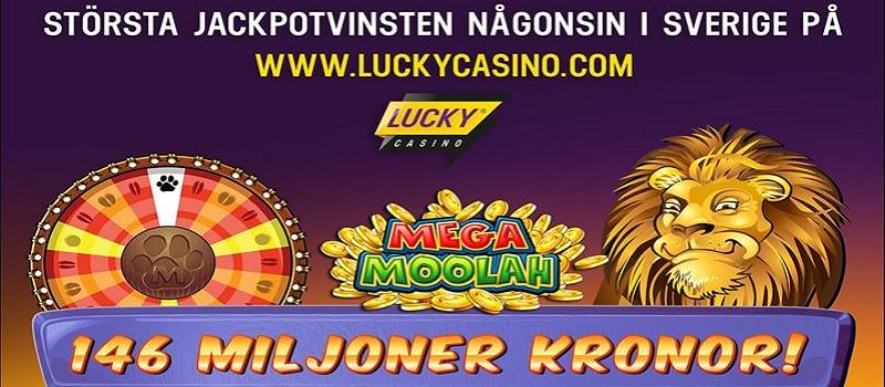 Svensk kvinna vann rekordstor jackpottvinst på Mega Moolah!