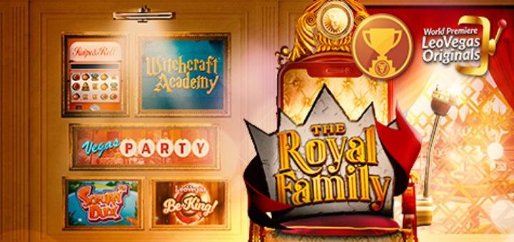 Ny kampanj hos LeoVegas - spela Royal Family