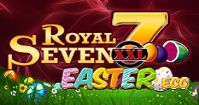 En av nya spelautomater april 2020 - Royal Seven XXL Easter Egg Hunt