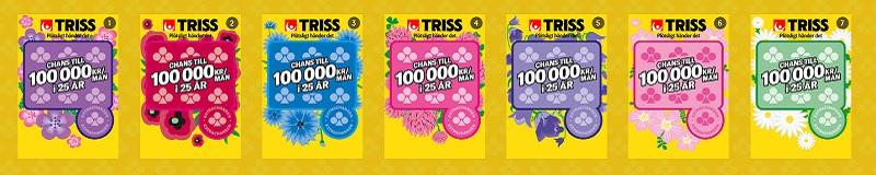 Skrapa Triss30 på nätet och vinn skattefritt!