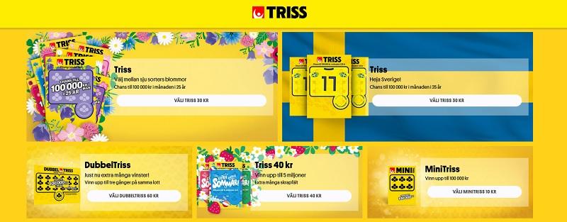 Skrapa Triss på nätet och vinn skattefritt!