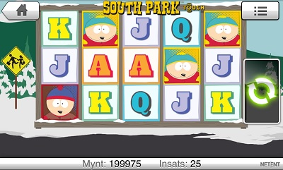 South park mobil free spins 19 september 2013