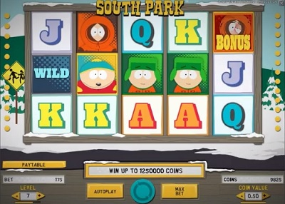 South park free spins 17 september 2013