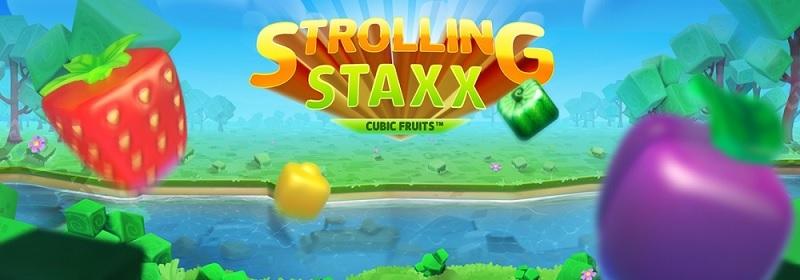 Strolling Staxx ny spelautomat från NetEnt