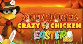 Super Duper Crazy Chicken Easter Egg en ny spelautomat från Gamomat