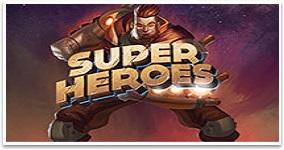 Ny spelautomat Super Heroes vecka 43 2016