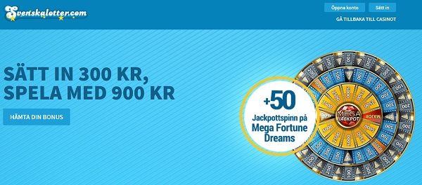 Svenska Lotter Casino Bonus