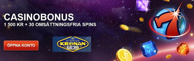 Sverigekrononan Free spins