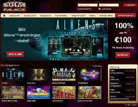 Casino Tropezia med över 700 spel
