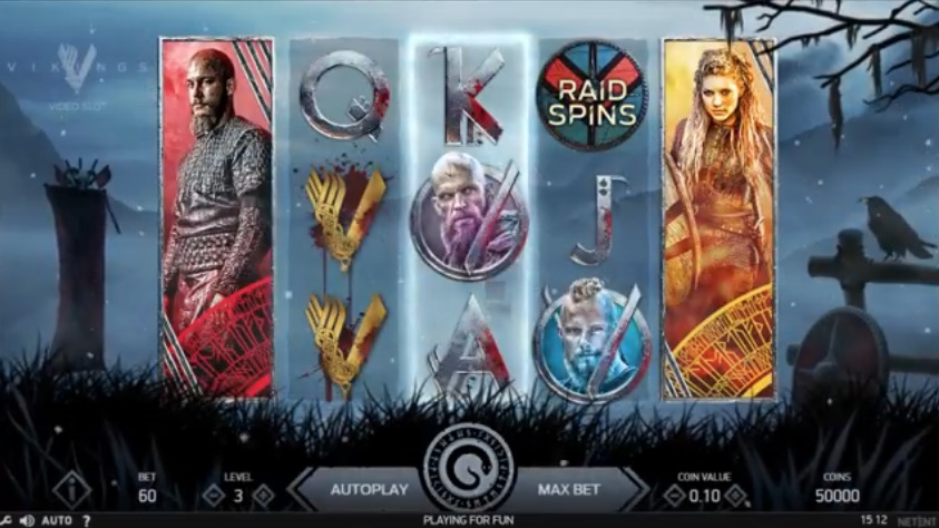 Vikings NetEnt spelautomat med premiär 22 november