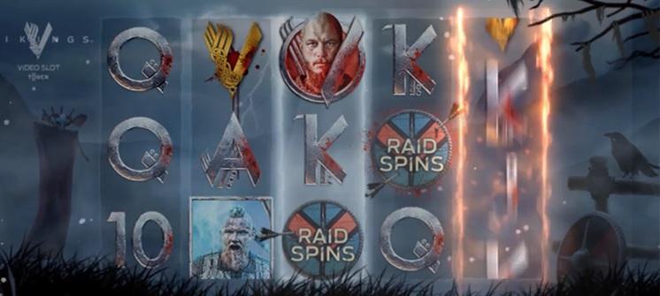 Spela gratis Vikings från NetEnt