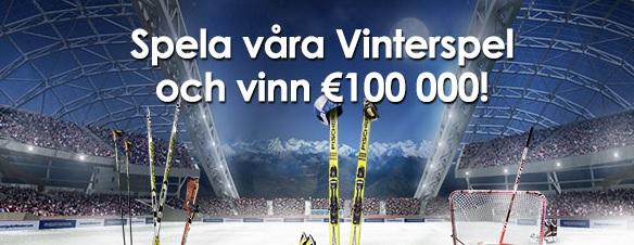 Vinterspelen Sverigeautomaten