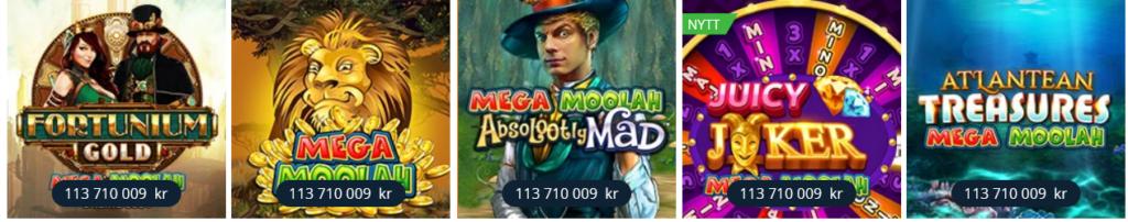 Mega Moolah jackpotten växer i feb - mars 2021
