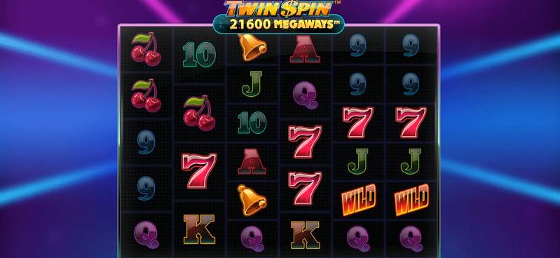 spelsymboler i Twin Spin Megaways från NetEnt
