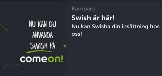 casinon med swish 2019