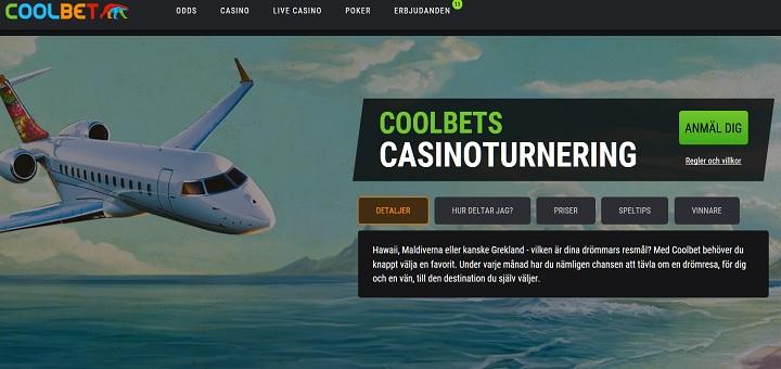casinoturnering hos coolbet