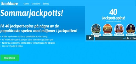 free spins i Augusti 2020