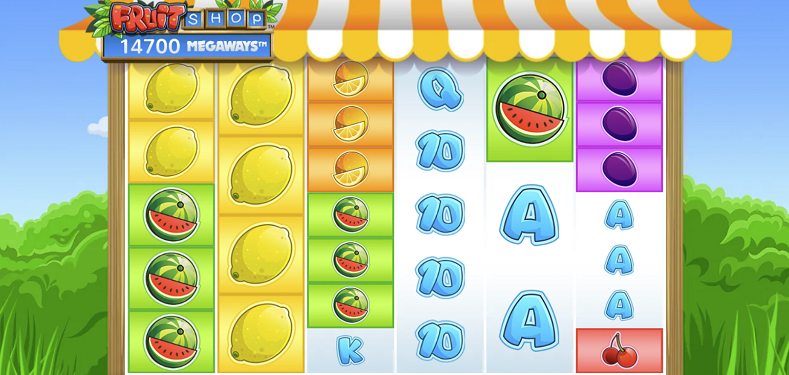 Nya spelautomater februari 2021 - fruit shop megaways