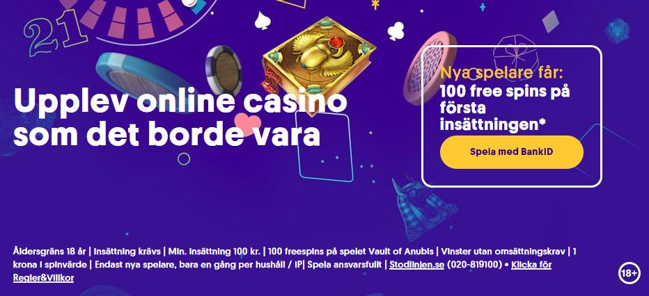 Bra casinobonusar i September och Oktober 2021
