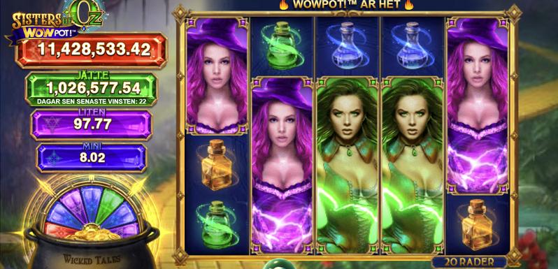 De största Casino jackpottarna januari 2021