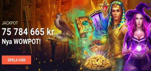 största casinojackpottarna oktober 2020