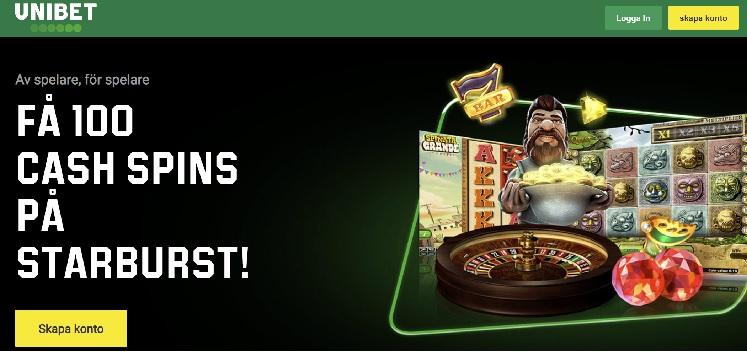 Unibet casinobonus 2020